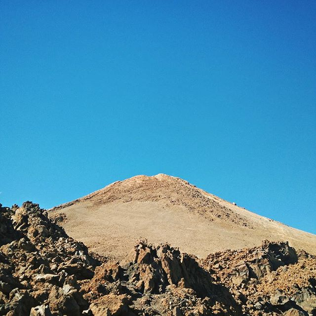 The summit of El Teide requires a permit I was too late to apply for when I booked my flights. Knee's shot anyway. If/when I come back here walking up to this is the plan.